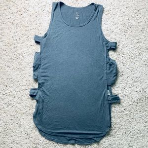 Workout Tank Top with Open Sides